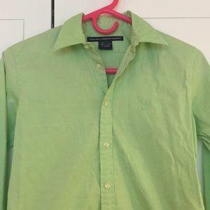 Ralph Lauren woman's cotton stretch button down